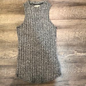 Hollister knit tank top, size small